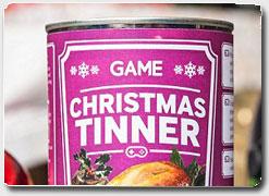Christmas Tinner.Biznes Ideya 4620 Rozhdestvenskij Uzhin V Konservnoj Banke