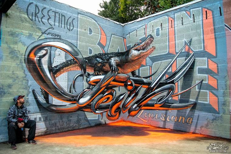 Аморфные граффити Серхио Одейта