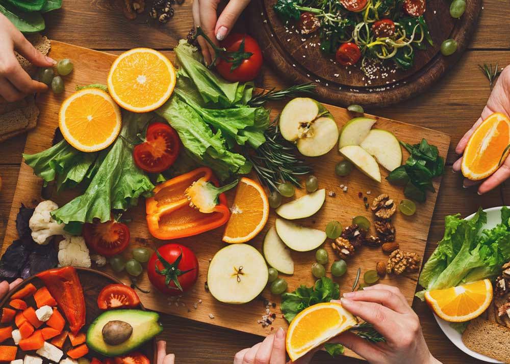 Вегетарианское кафе теория