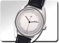 b2efe759 Идеи необычных часов: Часы, напоминающие о смерти