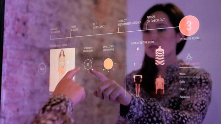 Бизнес-идея №5946. Интерактивные зеркала для примерочных