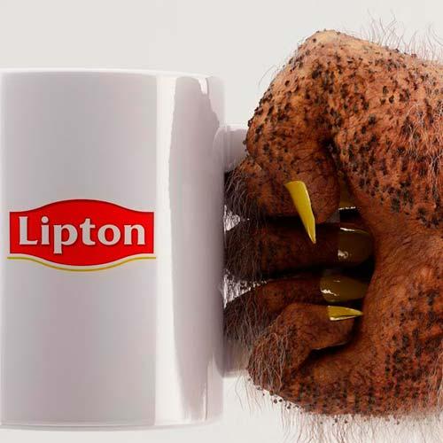 реклама чая Lipton