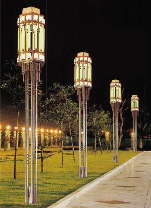 Красивые декоративные уличные фонари - 60 примеров | 690x500