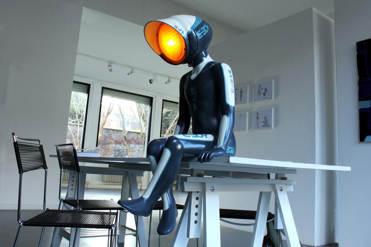 Лампы-роботы Гаэля Бриенна
