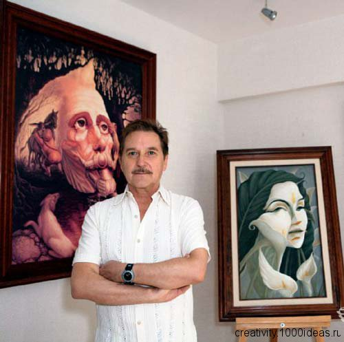 Octavio Ocampo и его загадочные картины