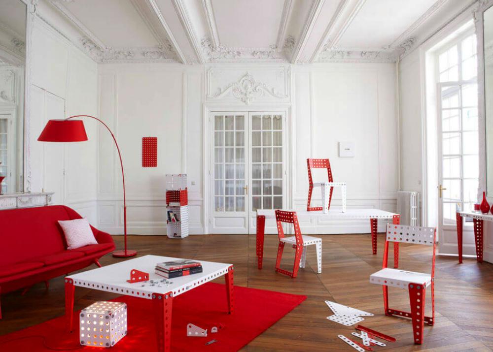 Мебель по мотивам конструктора Meccano