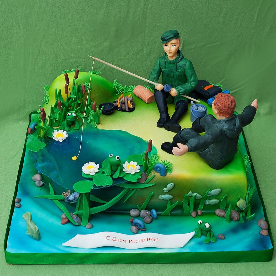 торт на тему рыбалка картинки сша, штате