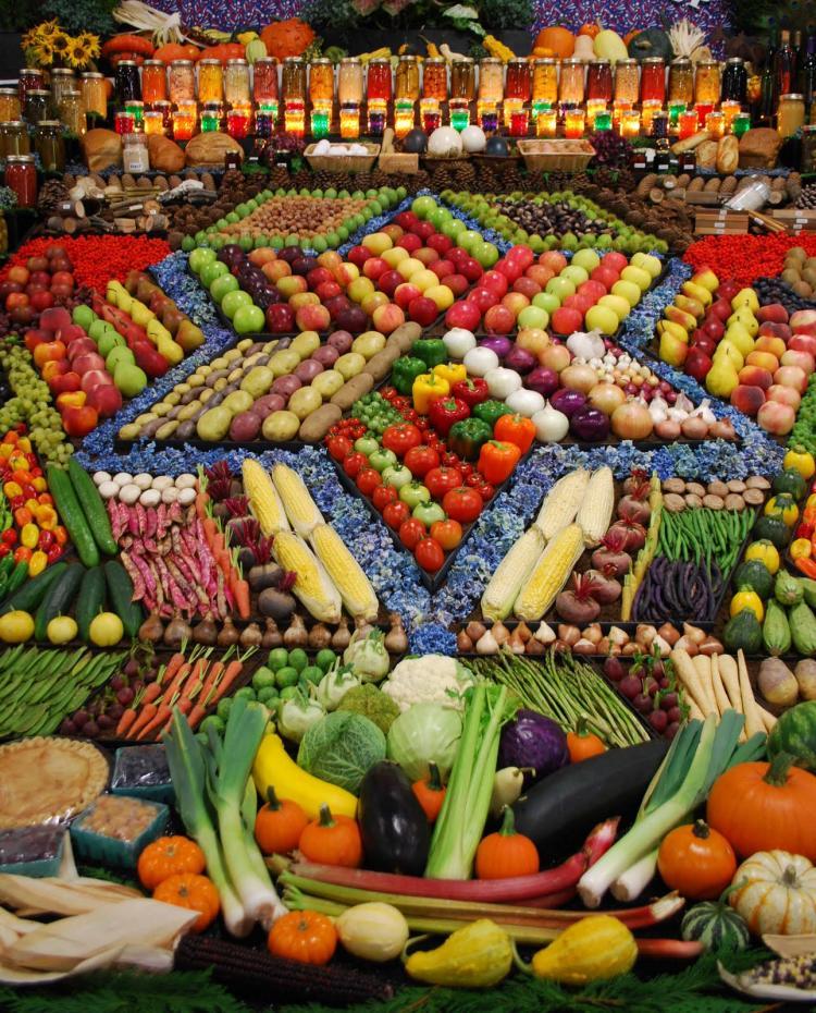 известность выкладка фруктов и овощей фото словам