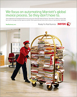 Xerox and Marriott Hotel\'s Print Add