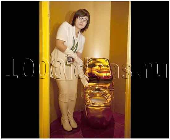 Imagining Trump Sitting on Maurizio Cattelans Gold Toilet