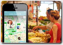 мобильное приложение  Findery