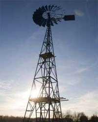 Необычная идея ветряной мельницы
