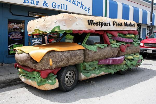 35 удивительных примеров закусочных на колесах