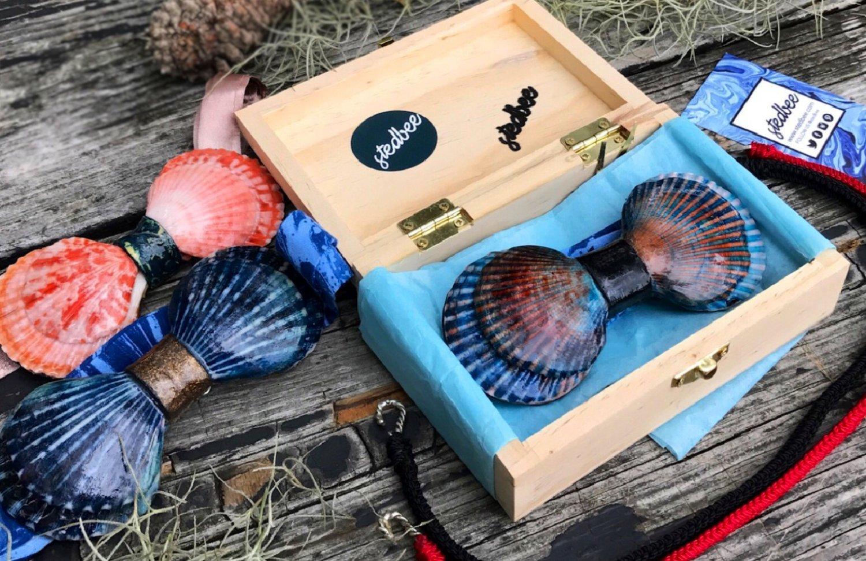 Бизнес-идея №6034. Производство галстук-бабочек из морских ракушек