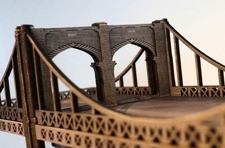 Идеи дизайна: Гигантская полка-мост