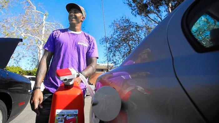 Бизнес-идея №5870. Доставка бензина с помощью мобильного приложения