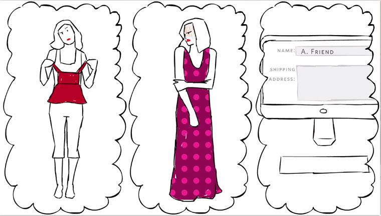 Бизнес-идея №5602. Как угадать с размером одежды, покупая подарки он-лайн?