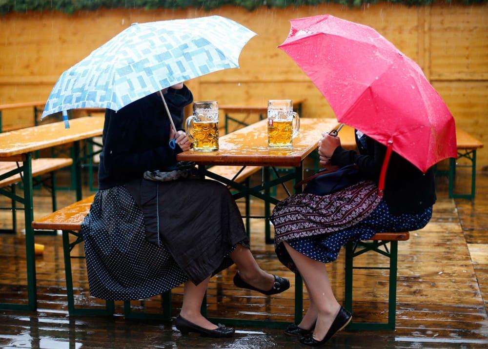 Пиво из дождя