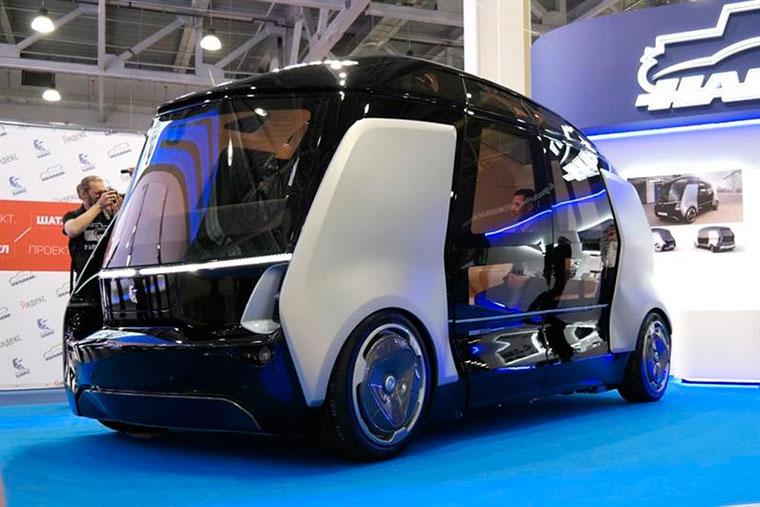 Бизнес-идея: беспилотный микроавтобус