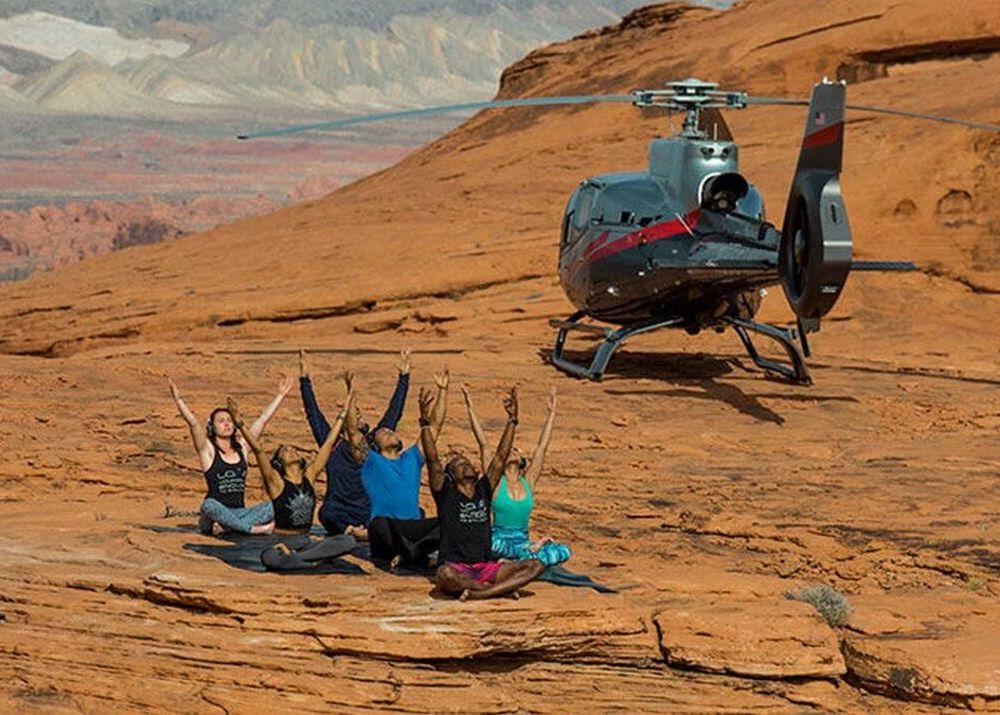 Вертолетная йога