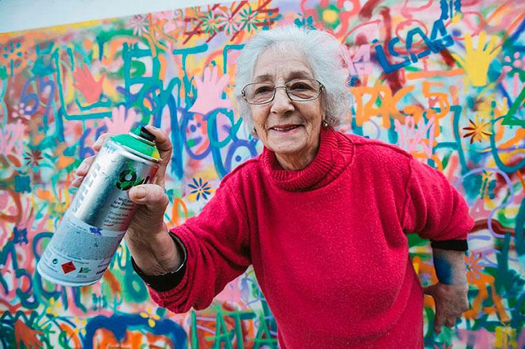 Бизнес-идея: курсы граффити для пожилых