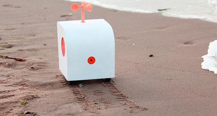 Бизнес-идея №6001. Робот, который пишет стихи на песке