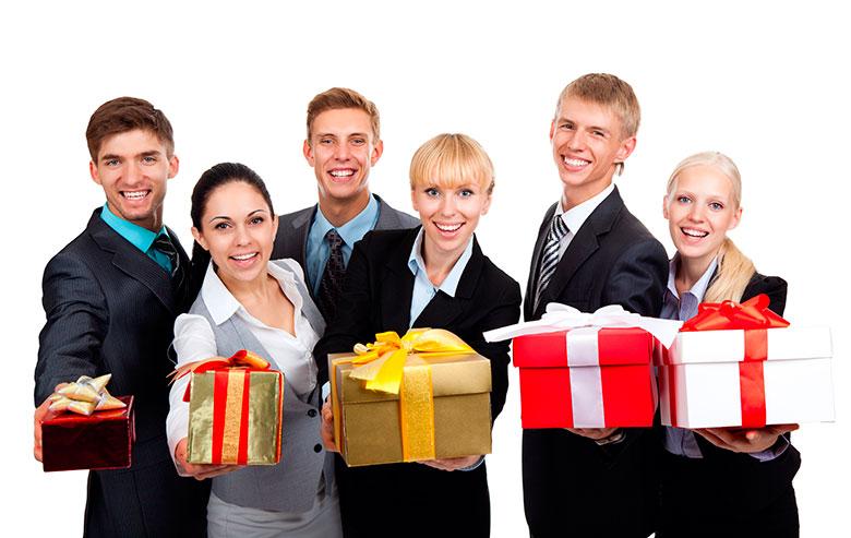Подарки для покупателей