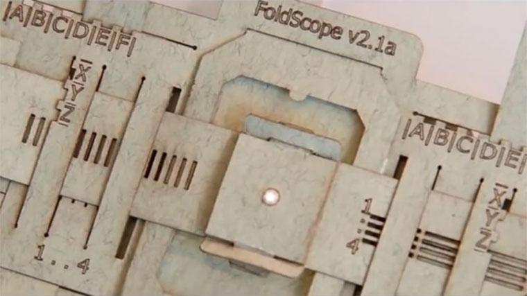 Микроскоп из бумаги своими руками