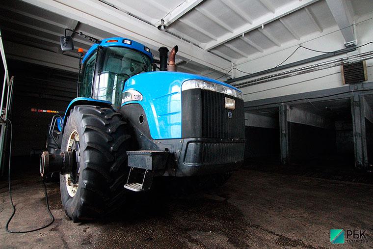 Бизнес-идея №5781. Беспилотный трактор