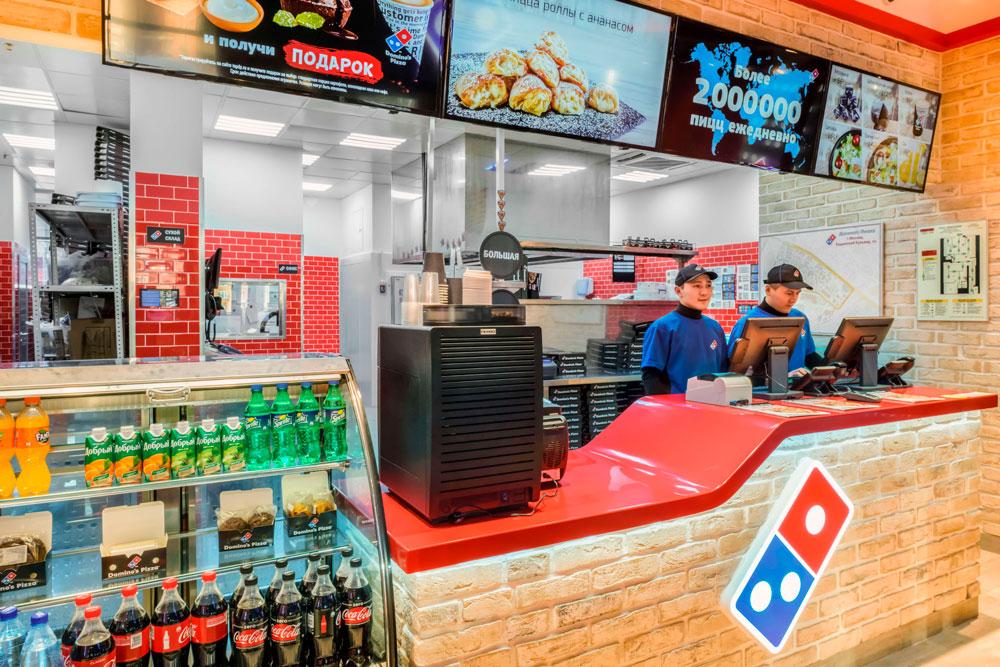Франшиза международной сети пиццерий Domino's Pizza