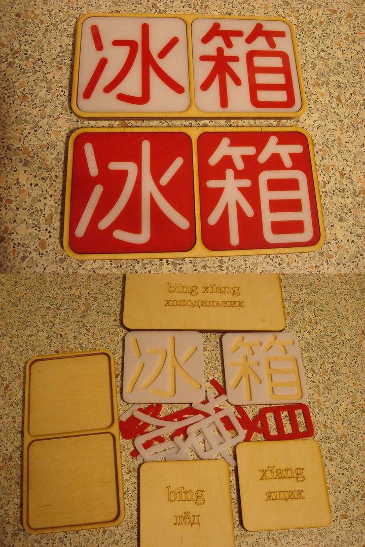 Бизнес-идея №5881. Китайские иероглифы в виде пазлов