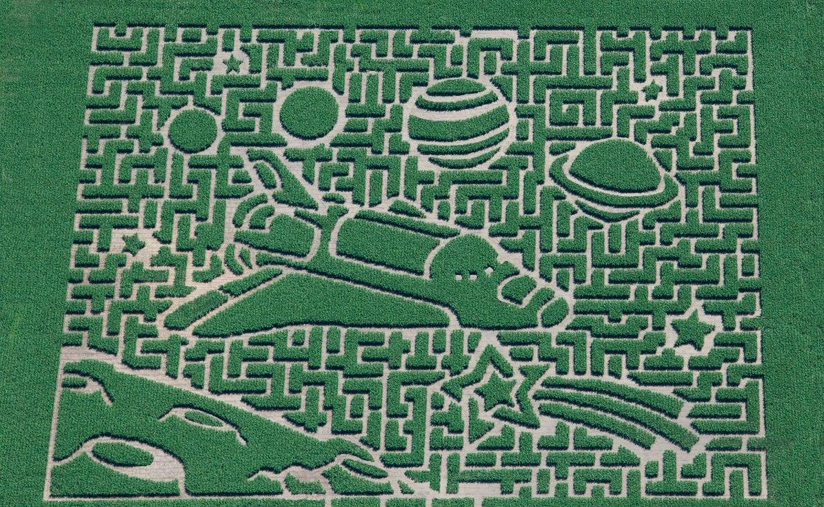 Бизнес-идея №5835. Кукурузный лабиринт