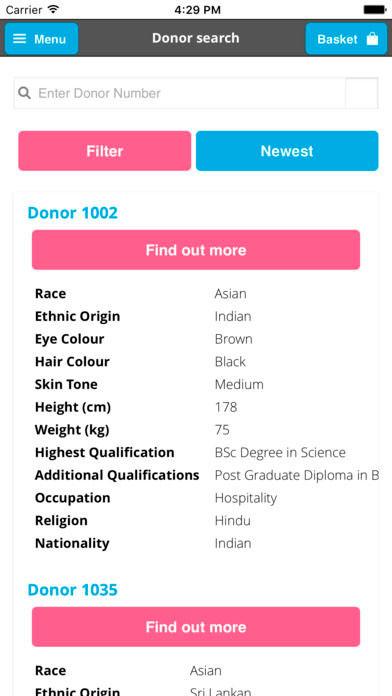 Бизнес-идея №5909. Приложение для поиска доноров спермы