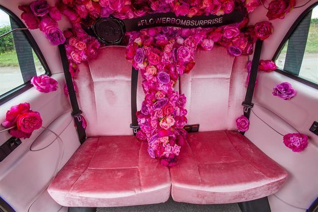 Рекламная идея №5910. Цветочное такси