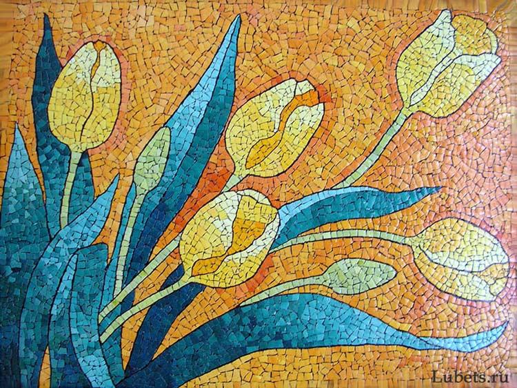 Картина из яичной скорлупы своими руками