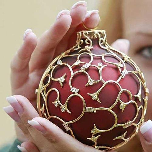 Самые красивые шары на ёлку
