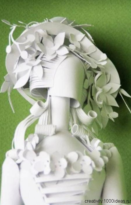 Статуэтки из бумаги своими руками