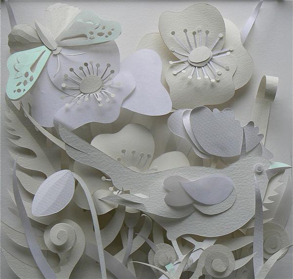 Объемные поделки из белой бумаги своими руками