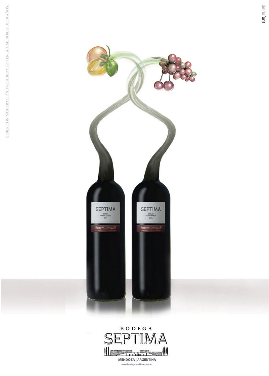реклама вина
