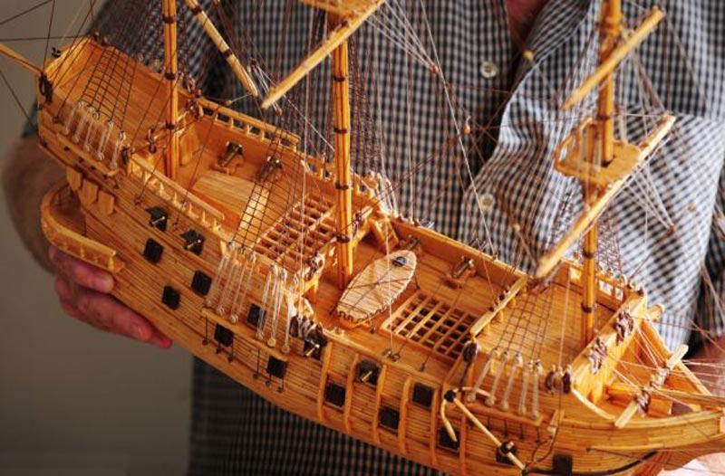 Как сделать макет корабль своими руками