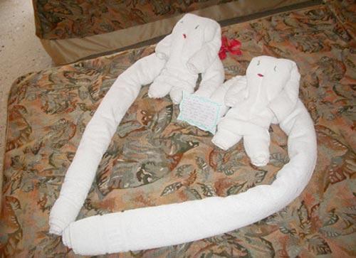 Как сделать из полотенца фигурки своими руками