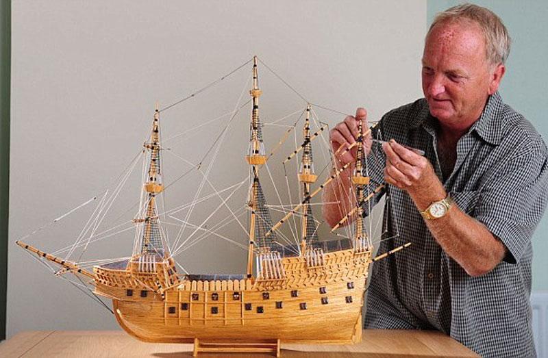 Как построить парусник своими руками