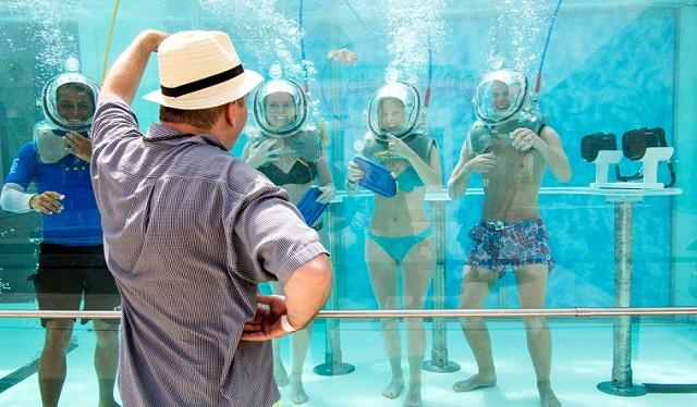 16 вдохновляющих примеров подводных ресторанов