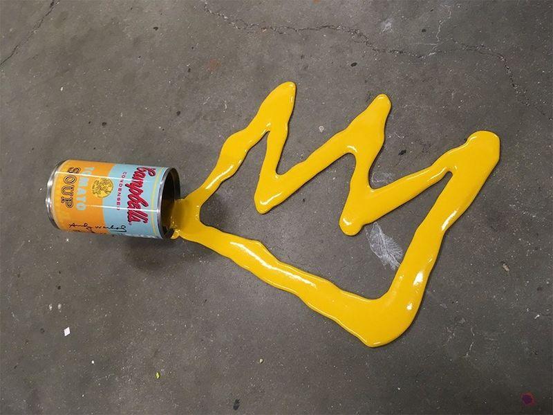 Случайное искусство. Почему случайно разлитую краску не стоит быстро стирать