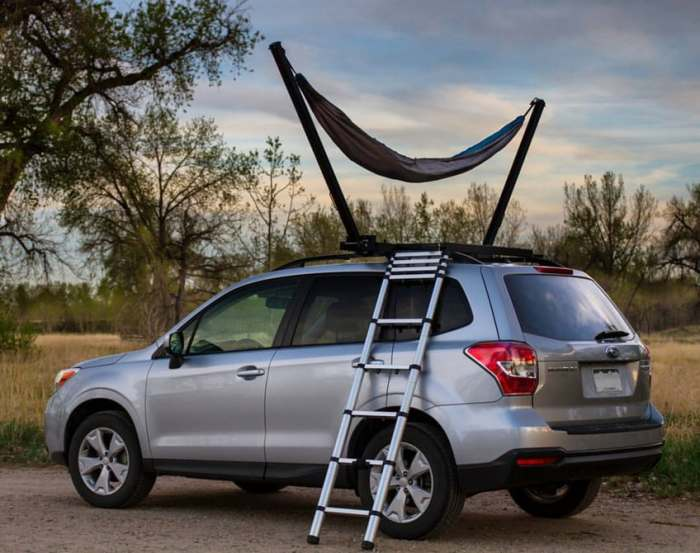 Бизнес-идея №5996. Гамак для крыши авто