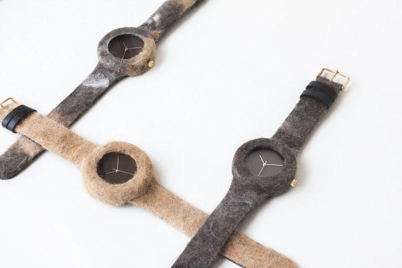 Бизнес-идея: часы из кошачьей шерсти