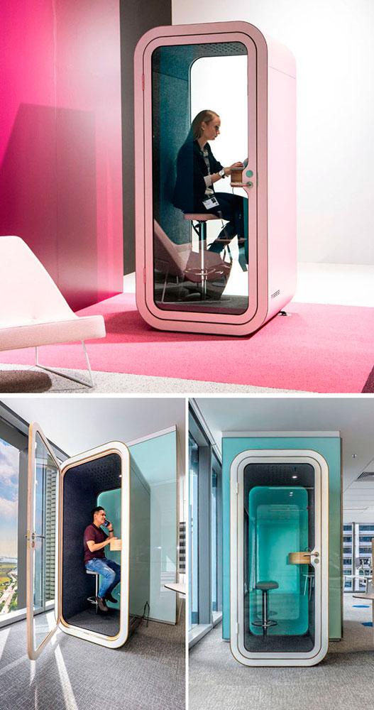 Бизнес-идея №6011. Переговорные кабинки для офисов