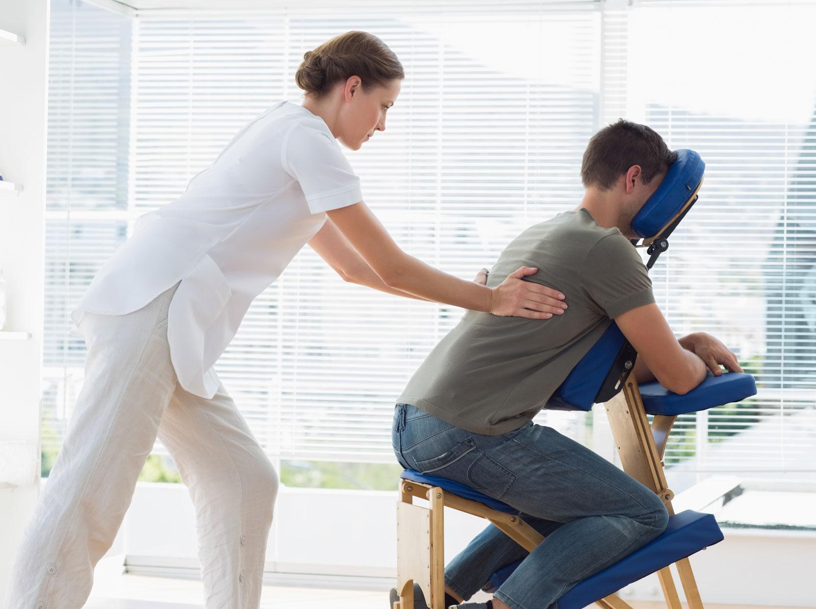 Маркетинговый ход. Идея №6012. Реклама комплексного массажа для офисных работников