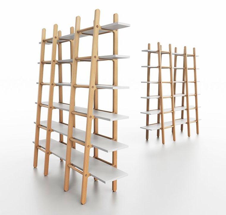 Бизнес-идея №5968. Книжный стеллаж с лестницей
