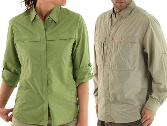 Компания Spot Cool Stuff выпустила линию одежды, под названием Buzz Off, что означает «отпугиватель», которая в своем составе содержит перметрин, аналог натурального репеллента, отпугивающий насекомых.